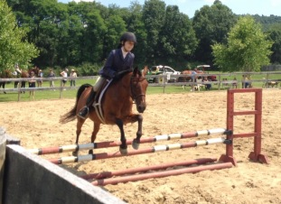 Jersey Girl at show